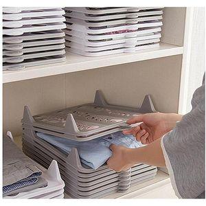 Creative T Shirt Clothes Organizer Closet Storage Travel Clothes Organization System Tshirt Folding Board H wmttHS sports2010