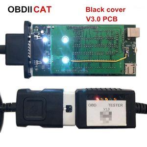 Outils de diagnostic 2021.1 Multidiag v3.0 Relais roux OBDIICAT-TCS Black TCS 2021.1 / 2021.R3 Scanner Bluetooth Bluetooth OBD2 Tool1