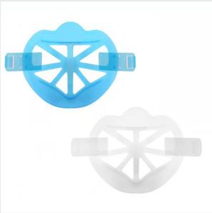 Bouton de support de masque 3D Fixation de lèvres Protection Stand Masque Masque de support intérieur Cadre Masques de visage Masques Porte-outil Accessoires LJJP702