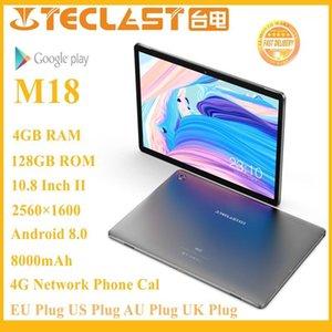 Dernier tablette Teclast M18 Deca Core 10,8 pouces IPS 2560 × 1600 RÉSOLUTION 4GB RAM 128GB ROM 13MP ARRIÈRE 5MP Front 4G Network Call1