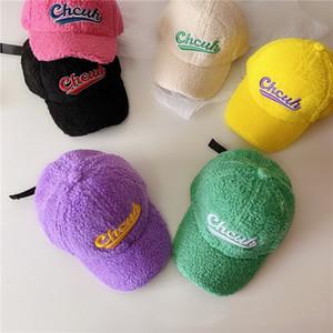 Enfants Chapeaux pour l'automne et l'hiver Nouveau chaud Cap Cartoon laine bébé casquette de baseball en gros marée enfants Chapeaux