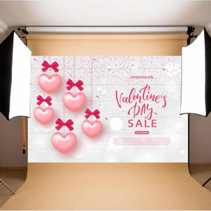 Valentines Background Wall Hanging Photographic Non Fading Backdrop Table Cloth Prop Festival Party Decorative Accessories d8ER#