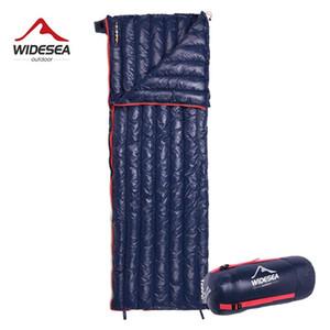 Widesea Camping Ultralight Schlafsack unten Wasserdicht Lazy Bag Portable Storage Compression Slumber Reise Sundries