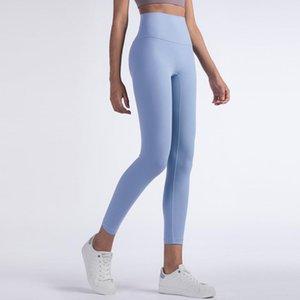 Roupas de ioga 2021 mulheres calças cintura alta para fitness nua sensação esportes leggings mulher ginásio push up colhets menina