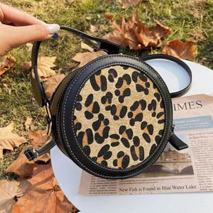 Female Handbag Oblique Satchel Round Design Women Bags 2020 New Round Pouch Long Strap Shoulder Bag Women Crossbody Flap Bags