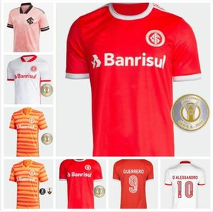 2020 2021 SC JERSEYS DE SOCCER INTERNACIONAIRE HOME TROISIÈME 20 21 Camisetas Bruno Silva N.LOPEZZ T-shirts de football homme Guerrero
