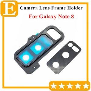 Cgjxsnew Voltar Rear Camera Lens Vidro Com suporte do quadro capa para Samsung Galaxy Nota 8 N950 N950f Universal Peças de reposição 10pcs