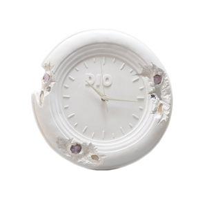 Home Einrichtungsgegenstände Trendy 28cm Daniel Arsham Erodierte Uhr Zukünftige Relikte Erodierte Kunst Drops Sammlung Skulptur Gips