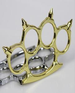 Metallo Personal Knuckle strumento di lega di ferro Conciatori Knuckles sicurezza da Boxe Equipaggiamento Auto Pugni protettiva del nuovo ottone Difesa marca bbyqQ