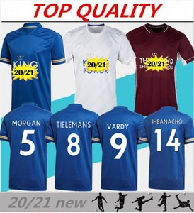 2020 2021 Vardy футбол Джерси Джерси МЭДДИСОНА футбола города 20-21 Майо-де-футового Camiseta NDIDI МЭДДИСОН футбол рубашка равномерный