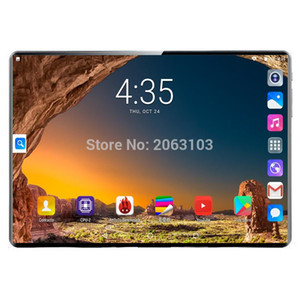 2020 New Super 2.5D Tempered Glass 10 inch 4G LTE Tablet PC Deca Core 8GB RAM 128GB ROM 1920*1200 IPS 8.0MP WiFi Bluetooth+Gifts