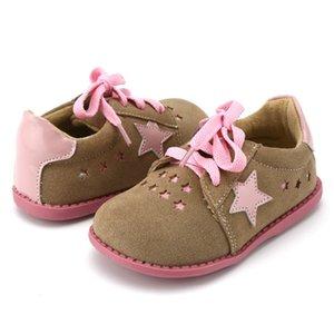 TipsieToes 브랜드 고품질 진짜 가죽 바느질 키즈 아동 신발 스타 남자와 여자 2020 Apring 새로운 도착