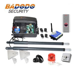 with fingerprint keypad optional automatic swing gate opener gate actuators kit 12VDC 200kg per leaf1