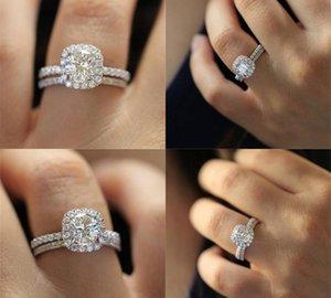 Accessori Cuore Set Ma sono Marry anello gioielli in argento 925 gioielli moda femminile massonica fascino particolare impegno chiodo rings77