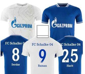 20 21 Schalke 04 Футбол Джерси 2021 2020 Bentaleb Uth Ozan Mckennie Caligiuri Raman Bentaleb Burgstaller Ibisevic Футбольные рубашки 3XL 4XL