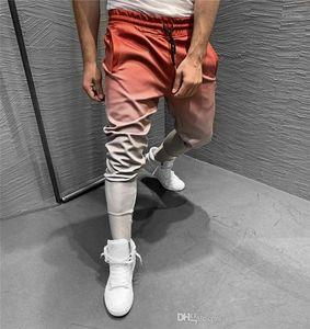Gradual Slim Running Pants Autumn Mens Casual Active Pencil Pants Mens Luxury Pants Fashion