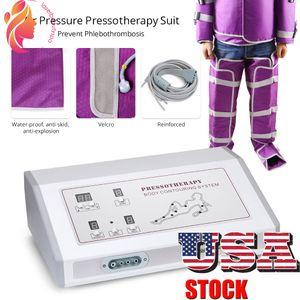 US Multifonctionnellement Pressothérapie Pressothérapie Machine de pression d'air minceur Body Minceur Machine Machine de beauté Massager