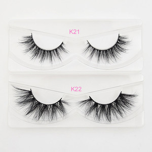 100% siberian 3d 5d mink super fluffy hair eyelashes 10-25mm extra long lashes with free custom packaging box