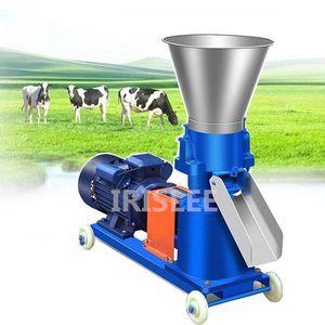 60kg / h-150kg / h Moinho de pellets multifuncional alimentação alimentar alimentos frete máquina casa doméstica animal alimentação granulador 220V / 380V