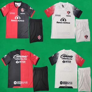 20 21 Atlas Futebol Jerseys Shorts Home Away Kits de Futebol 2020 2021 Liga MX Club Futebol Sets Homens Futebol Formação Uniformes