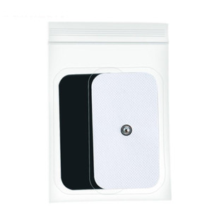 Pastiglie per elettrodi di gel autoadesivi / TENS TENS TENS THERAPY Body Massager Electrical Muscle Stimolatore 2.5mm Plug