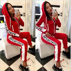 Moda Kadınlar Bayanlar Eşofman Kadınlar İki Parça Seti Sportwear Kadın Elbiseler Bayan Spor Fitness Giyim