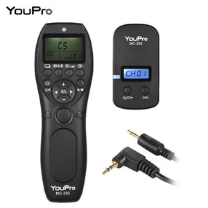 YouPro MC-292 N3 2.4G Wireless Remote Control LCD Timer Shutter Release Transmitter Receiver 32 Channels for