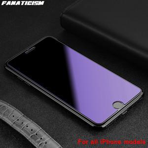 Анти-фиолетовый свет закаленного стекла для iPhone 12 Pro Max 12MINI 12PRO SE2020 экран протектор анти-синего луча