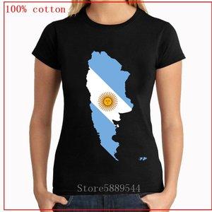 Momen tişört ARJANTİN HARİTASI FLAG UNISEX T-GÖMLEK hip hop kısa kollu tişört 2020 yeni bayan moda gündelik üst tee