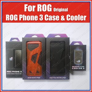 AeroActive Cooler Cooling Fan For ASUS ROG Phone 3 Original LED Lighting Armor Case Tempered Glass Screen Protection