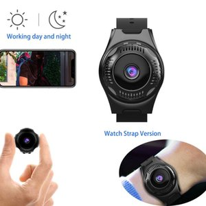 1080P HD Fake Watch Camera Wide Angle View Camera Motion Detect Home Wifi Security Mini Wireless Infrared Night Vision