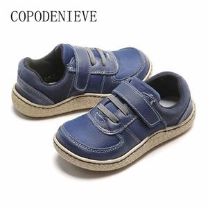 meninos de couro cctwins com arco kids designer menino marcas o menino casual sapatos y201028