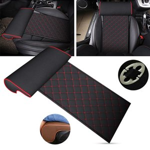 Automobile Seat Leather Leg Pad Support Extension Mat Soft Foot Support Leg Leather Cushion Knee Pad Memory Universal