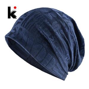Casual Skullies Beanie Women Knitted Letters Flower Pattern Hats Men Scarf Beanie Multipurpose Outdoor Bonnet Cap Cycling Turban