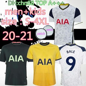 Tamaño: S-4XL 20 21 KANE Son BergWIJN Soccer Jerseys 2020 2021 Lucas Spurs Dele Tottenham Football Shirt Bale Ndombele Men Kit Kit Uniformes