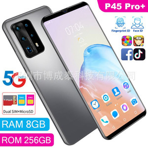 New smartphone P45pro+ 6.3-inch RAM 1+8 Android HD screen domestic cross-border mobile phone