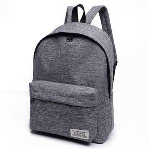 HBP Non-Brand School Middle Backpack Girls Schoolbag Versión coreana Little Fresh College Style Backpack Fashion Travel 3Sport 0018 SP