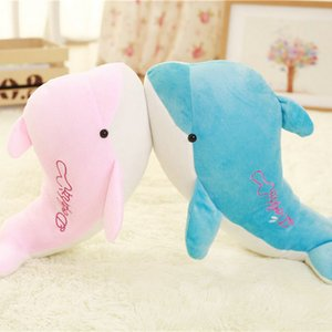 Kids Gift High-quality Dolphins Pillow Doll Plush Toys Dolphins Doll Baby Gift Plush Animals Hobbies