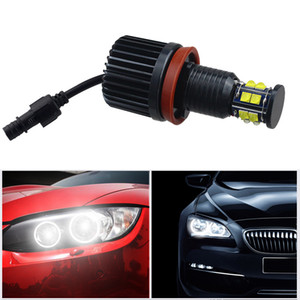 2Pcs 6 Sides H8 120W LED Headlight Bulbs Angel Eyes Auto Lights Car Lamp Canbus for BMW 3 5 7series E60 E61 E92 E93 E89 E84 E70 E71