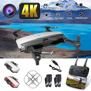 الطائرات بدون طيار WIFI FPV مع زاوية واسعة HD 4K / 1080P كاميرا كوادكوبتر درون طوي خارج نقطة الطائرات بدون طيار كاميرا HD البسيطة بدون طيار لعب الاطفال هدايا