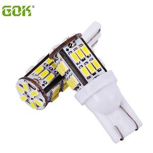 100pcs lot T10 W5W 30smd led light 168 194 t10 30led 3014 SMD LED Bulb Lamp White Color Indicator Light Parking Lamps White
