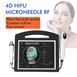 New arrival 2 in 1 4D hifu fractional rf thermagic slimming machine portable for anti-ageing and remover hardly wrinkle
