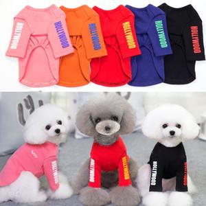 Fun Piese Autunno e Inverno Nuovo cane Abbigliamento da cane Totching Camicia Due piedi Teddy Bo Co in cotone Cat Cat Cat Abbigliamento