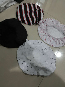 Hot Sleep Night Bonnet Cap Durag Muslim Caps 60+ Estilo Mujeres Estirar Sueño Turban Hat Silky Bonnet Quimio Gorros Gorros Caps Cáncer Headwear