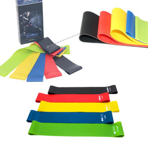 5 8 PCS Resistance Bands Set Elastic Band Fitness Emulsion String Bands Sport Yoga Exercise Gym Rubber Set Workout