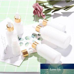 10ml 15ml 20ml 30ml 50ml 100ml Glass Dropper Bottles White Porcelain Essential Oil Container Newest Cosmetics E Juice Bottles