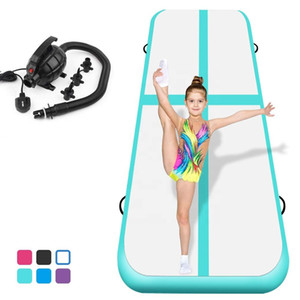 2020 Hot Sale Inflatable Tumbling Track Floor 7*2*0.2M Air Mattress For Gymnastics Cheerleading Mat Jumping Bouncing Mat Airtrack
