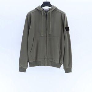 20FW insignia de la manga camiseta de la moda de los hombres High Street otoño con capucha al aire libre suéter de los suéteres con capucha Homme Ropa M-2XL