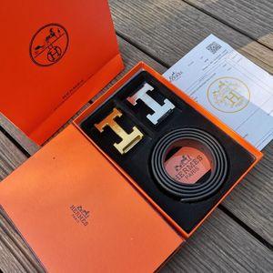 Vendita calda unisex mens cinture di cuoio del progettista nero di alta qualità Man Belt Buckle Metallo Rame donna Cinture Fashion Box Accessori di alimentazione