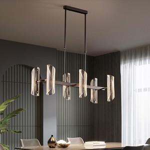 Modern led pendant lights living room bedroom hanging lamp Kitchen dining room pendant lamp Acrylic luminaire suspension